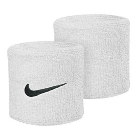 NIKE SWOOSH WRISTBAND White-Black