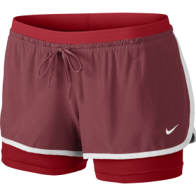Nike full flex 2 in 1 short Red