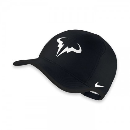 Nike Rafa Feather Light Cap Black-White