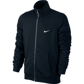 NIKE MENS CLUB TRACK JACKET Black