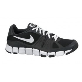 sports shoes c4c81 29c39 NIKE MENS FLEX SHOW TR 3 Black-White