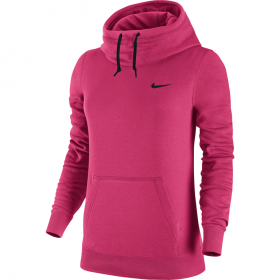 NIKE WMNS CLUB FUNNEL HOODY Pink