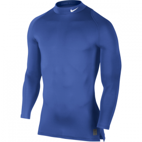 NIKE COOL COMPRESSION LS MK Blue