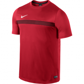 NIKE ACADEMY SS TRAINING TOP 1 Red