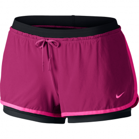 Nike full flex 2 in 1 short Pink-Black