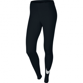 NIKE CLUB LEGGING-LRG SWOOSH Black