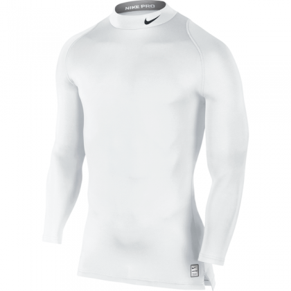NIKE COOL COMPRESSION LS MK White