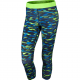 NIKE FA15 PRINTED RELAY CROP Blue-Green