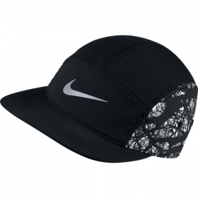NIKE SEASONAL AW84 ADJ CAP Black-White