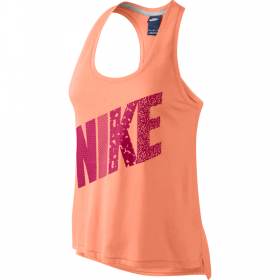 NIKE PREP TANK-MIXED Peach