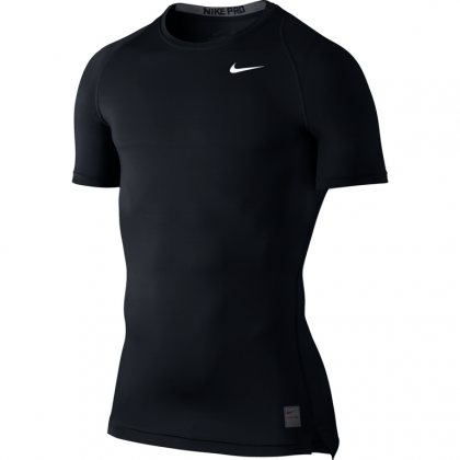 NIKE COOL COMPRESSION SS Black
