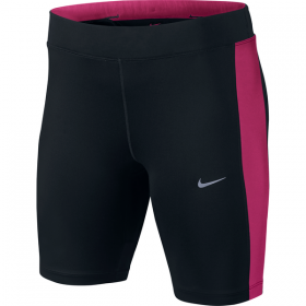 "NIKE WMNS DF ESSENTIAL 8"" SHORT Black-Pink"