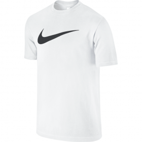NIKE TEE-CHEST SWOOSH White