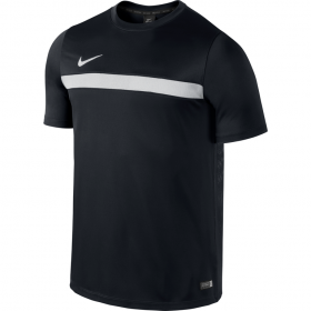 NIKE ACADEMY SS TRAINING TOP 1 Black-White