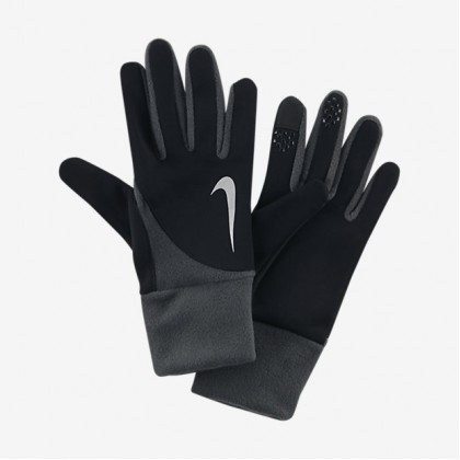 NIKE MENS ELEMENT THERMAL 2.0 RUN GLOVES Black-Grey