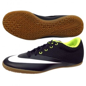 NIKE MERCURIALX PRO STREET IC Black-Volt-White