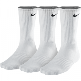 NIKE 3PPK CUSHION CREW White