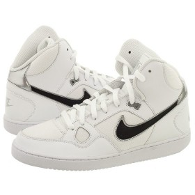 NIKE MENS SON OF FORCE MID WHITE