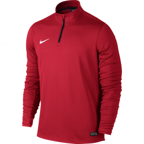 NIKE ACADEMY MIDLAYER TOP Red