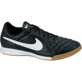 NIKE TIEMPO GENIO LEATHER IC Black-White