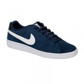 NIKE MENS COURT MAJESTIC LEATHER Navy