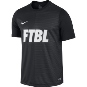 NIKE ACADEMY SS GPX PLY TOP 1 Black