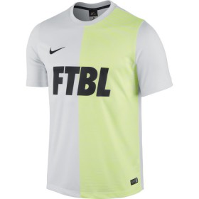 NIKE ACADEMY SS GPX PLY TOP 1 White