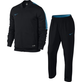 NIKE MENS ACADEMY SDLN KNIT WARM UP Black-Blue