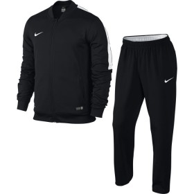NIKE MENS ACADEMY SDLN KNIT WARM UP Black-White