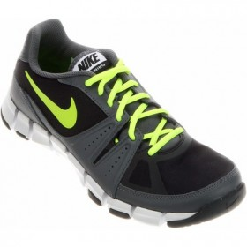 meet 88980 37504 NIKE MENS FLEX SHOW TR 3 Black-Yellow