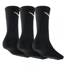 NIKE COTTON SOCKS 3PPK black