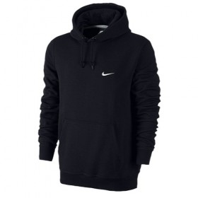 NIKE CLUB HOODY (M) SWOOSH Black