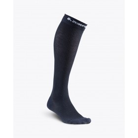 ZERO POINT (M) MERINO WOOL COMPRESSION SOCKS BLACK