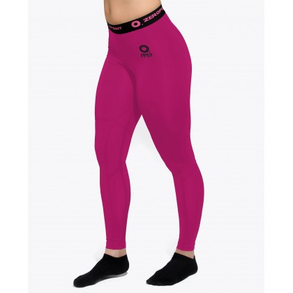 ZERO POINT POWER COMPRESSION TIGHTS WOMEN PINK-BLACK