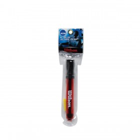 "WILSON NCAA 6"" DUAL ACTION PUMP RED, pallopumppu punainen"