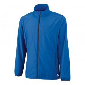 WILSON MEN TEAM WOVEN JACKET, new blue, ulkoilutakki uusi sin.